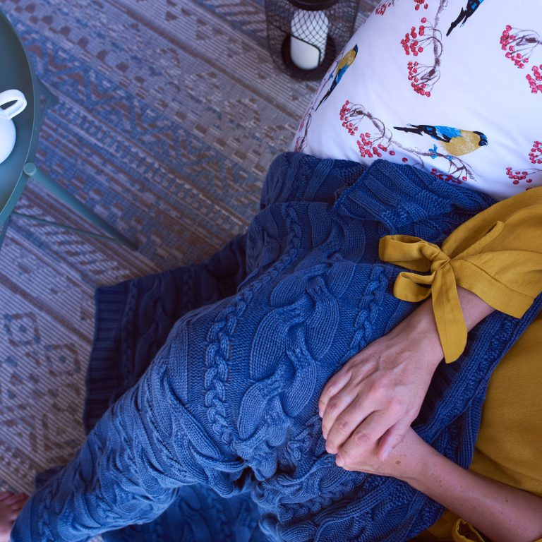 Pletená deka SCANquilt