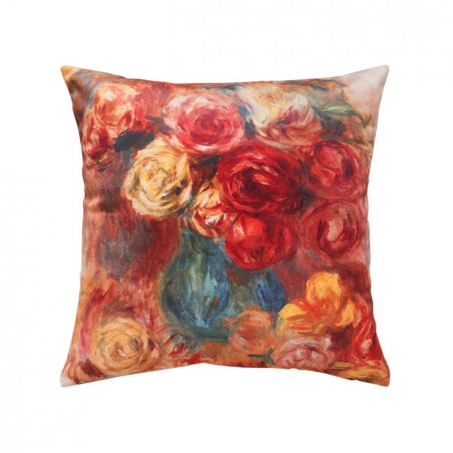 [Dekoračný návlek ART VELVET Renoir - ruža]