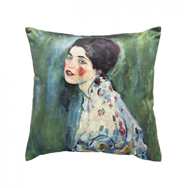 [Dekoračný návlek ART VELVET Klimt - portrét]